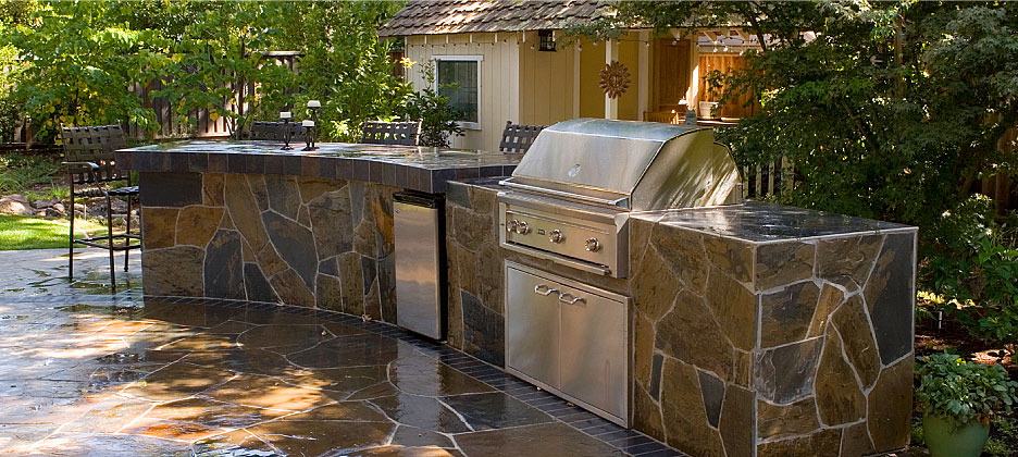 Outdoor Living Stone Work Outdoor Kitchens Barbecues