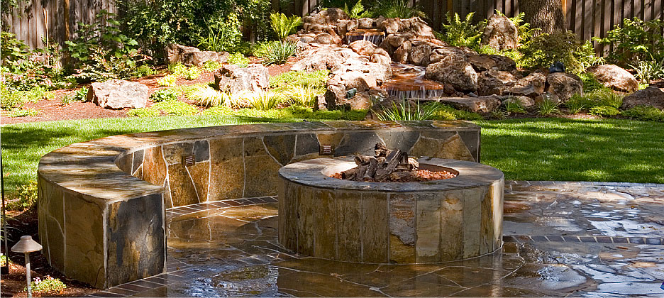 Outdoor Living Fire Pits Landscape Design