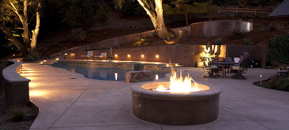 Santa Cruz Landscape Design Projects Hardscape