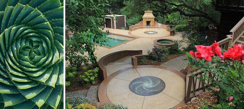 Unique Garden Design Hardscape